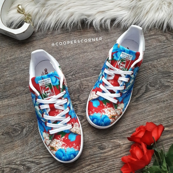 bb3b2230 adidas Shoes | New Stan Smith Floralrare | Poshmark